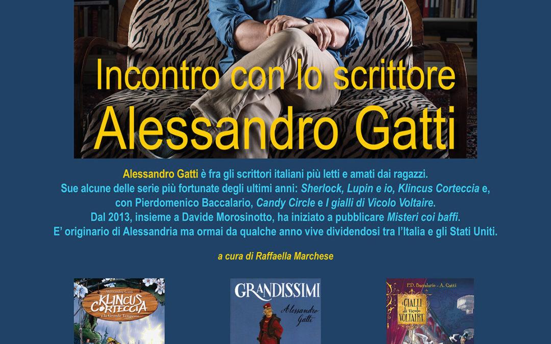 Incontro con Alessandro Gatti